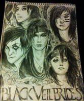 Black Veil Brides Sketch by blackparademarcher93