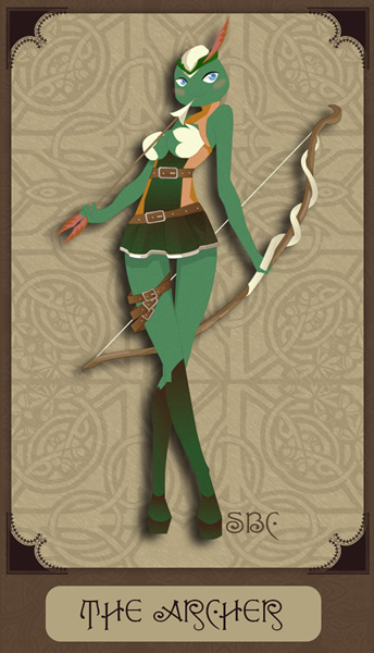 The Archer(Mikefem) by Siren-Blue-Cat