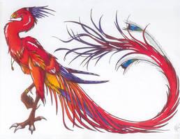 Red Phoenix Suzaku ver.2 by ShokokuPhoenix