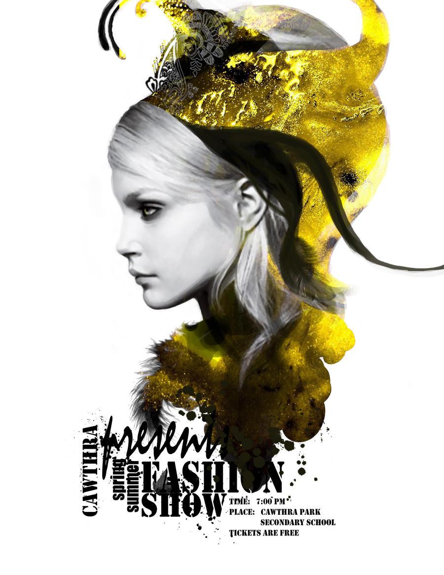 Poster design deviantart -  Fashion Poster By Giraff E