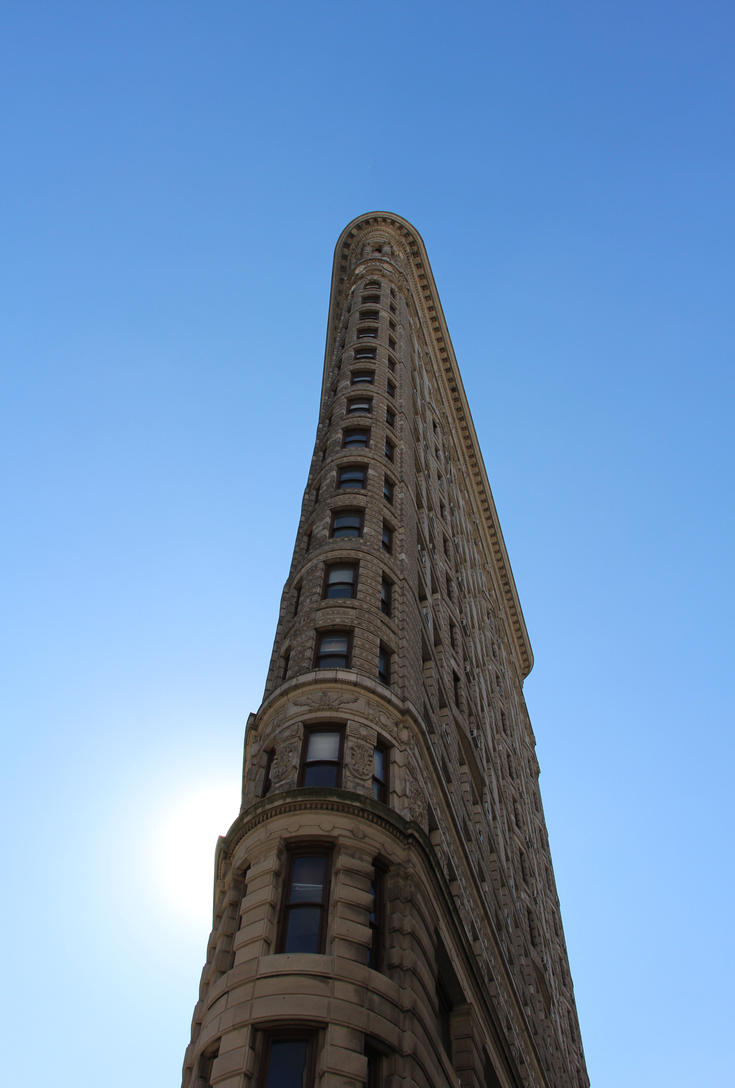 The Flatiron Building by Karaaib