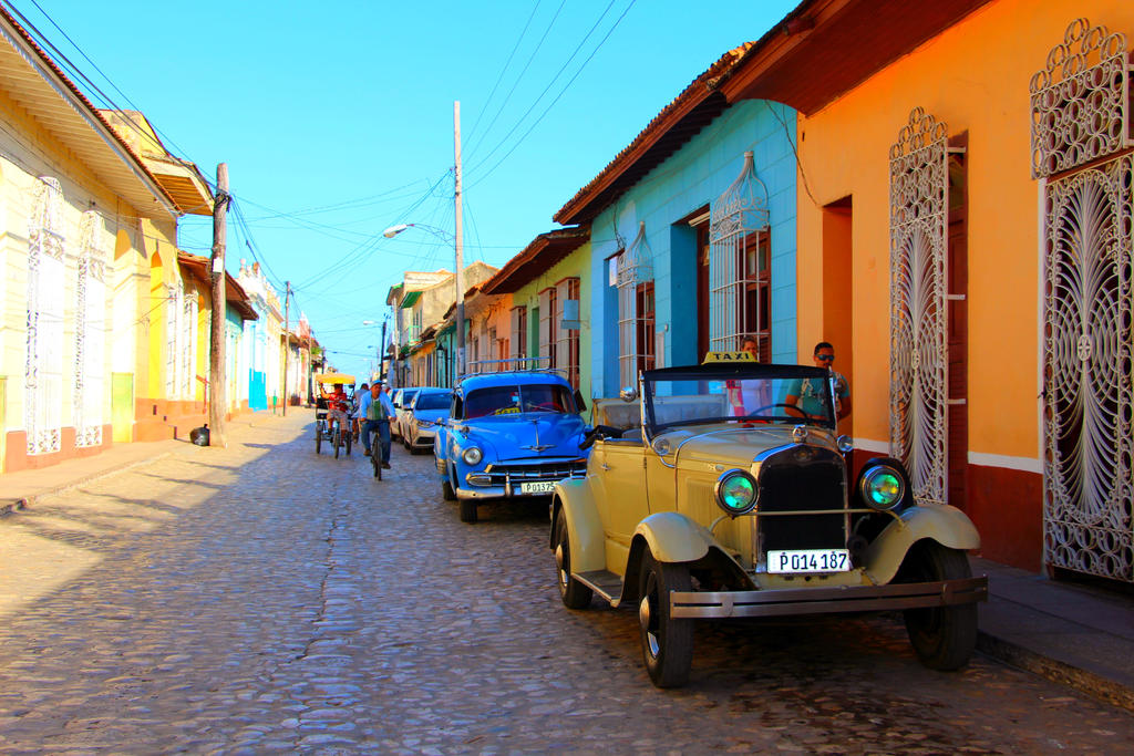 Cars in Trinidad by Karaaib