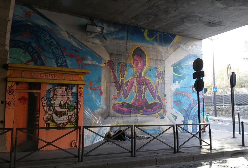 Shiva Of Tunnel by Karaaib