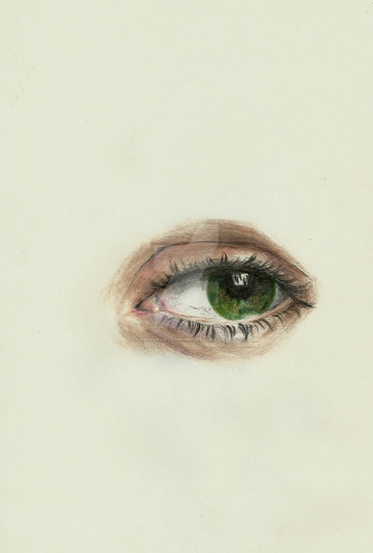 Eye study by labelledelamort