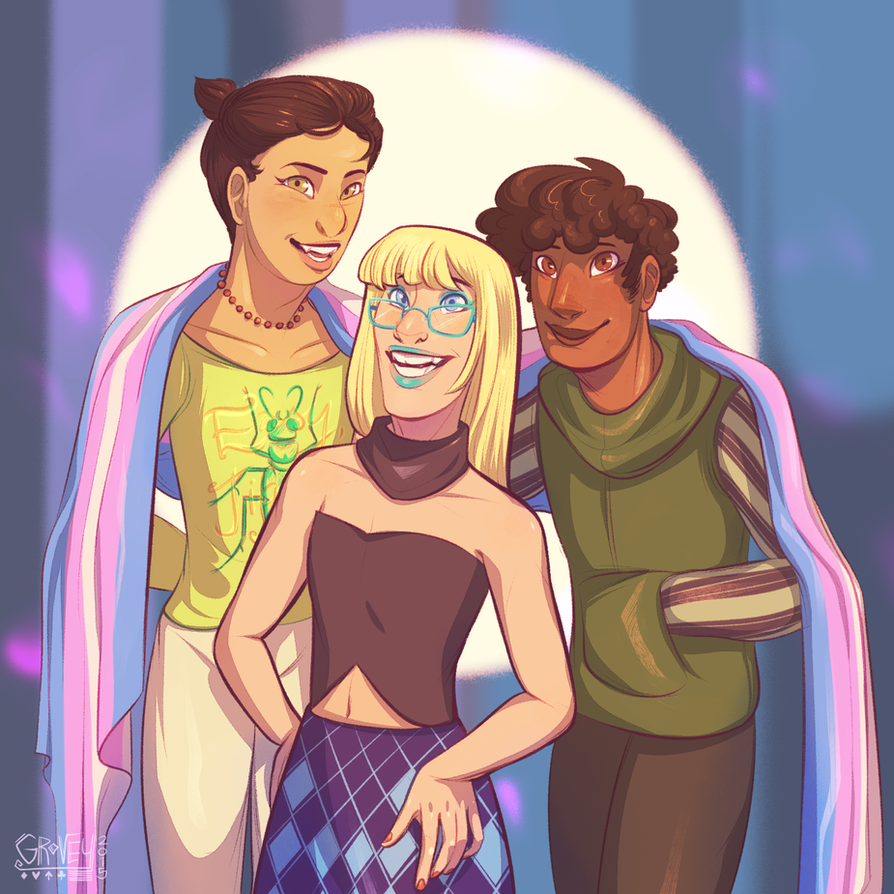 Trans Pride Club By Gpotious On DeviantArt