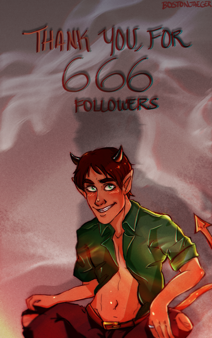 666 followers by BreatheLifeXx