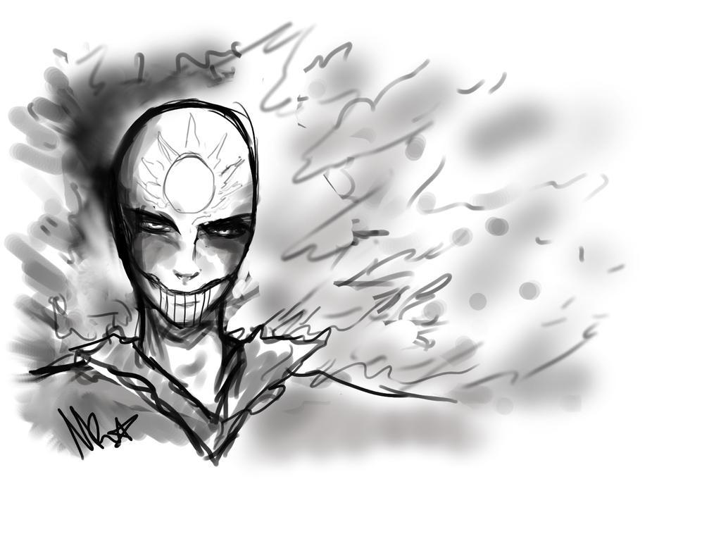 Sketch - the enemy by Nathchi1