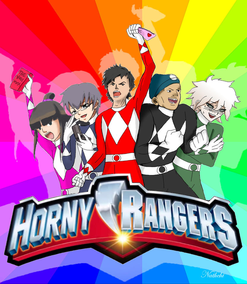 Horny Rangers by Nathchi1