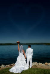 Wedding by a Lake VI by TimLaSure