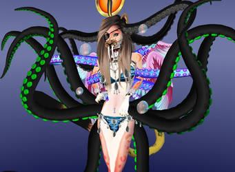 Blue Tigress (Bikini) II