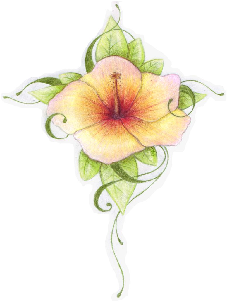Yellow Rose Tattoo Designs