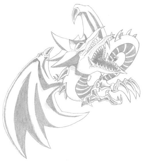 slitherio coloring pages - slifer the sky dragon by kibbles77 on deviantart