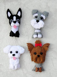 Dogs-magnets by VeoBea