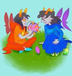 Easter art trade