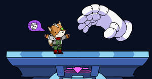 Fox vs Master Hand