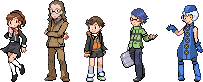 Pokemon - Persona 3 Chars 2 by McGenio