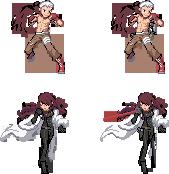 Pkmn trainers - Persona 3 - Akihiko and Mitsuru by McGenio