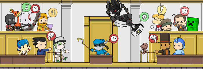 Scribblenautical Courtroom Madness