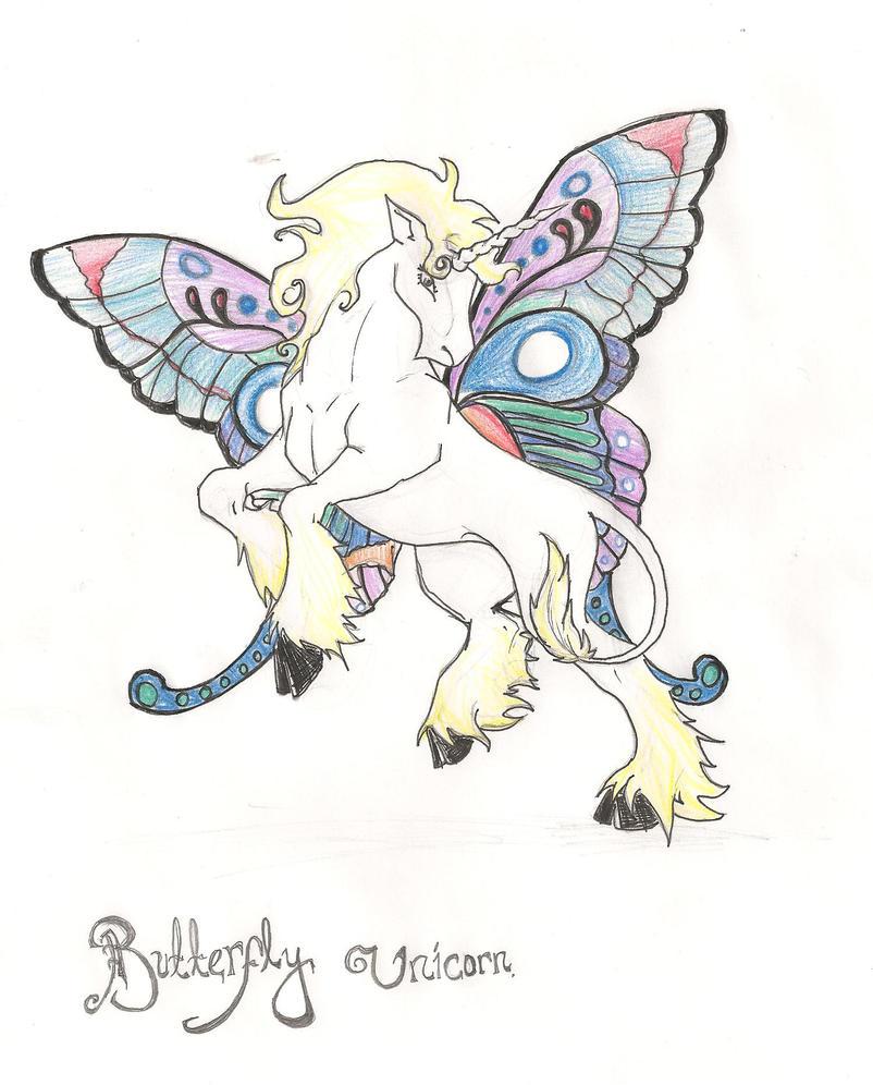 butterfly unicorn by nightshadepanthera on deviantart
