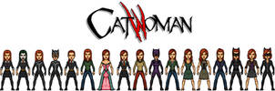 Catwoman - Ginevra Molly Weasley by AnderPotter1937