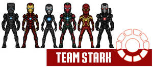 Team Iron Man - CartoonHooligans Version
