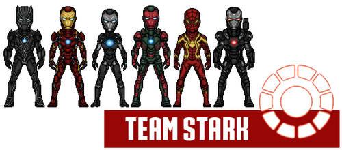Team Iron Man - CartoonHooligans Version by AnderPotter1937