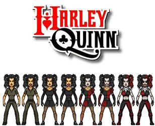 Harley Quinn - Bellatrix Lestrange by AnderPotter1937