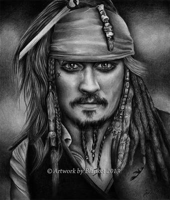 CAPITAN Jack Sparrow by blanket86