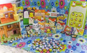 My Hamtaro collection