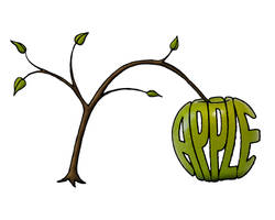 Apple - word art