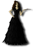 Bellatrix dress design