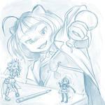 ==Commission== Miyako's experiment