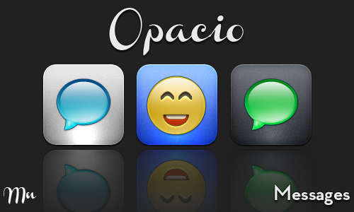 WIP Opacio Messages by MitchNied