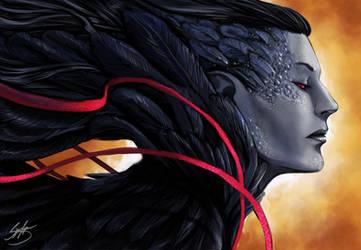 Lilliths Raven by SigneRJArts
