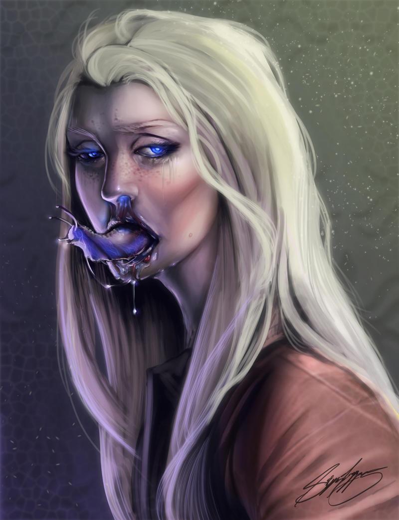 Symbiote by HalloweenHolidayDoor