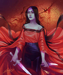 Lady Judgement by SigneRJArts