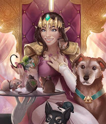 Legend of Gerb Queen (Commission)