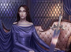 Queen of Seafoam and Bone