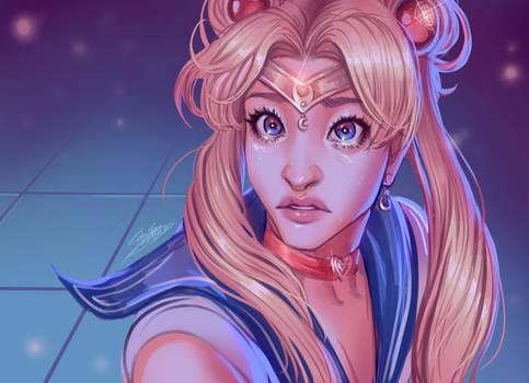 Sailor Moon Redraw - With Speedpaint