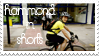 Hammond in Shorts stamp by ladyshaniique08