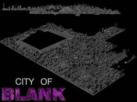 City of Blank - Glory City NEW