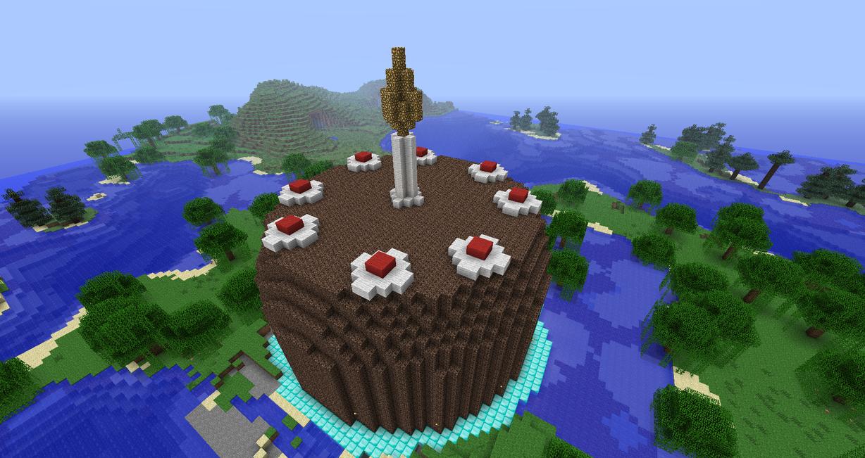 Minecraft - 3D Portal Cake by luk01 on DeviantArt
