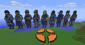 Minecraft - TF2 classes