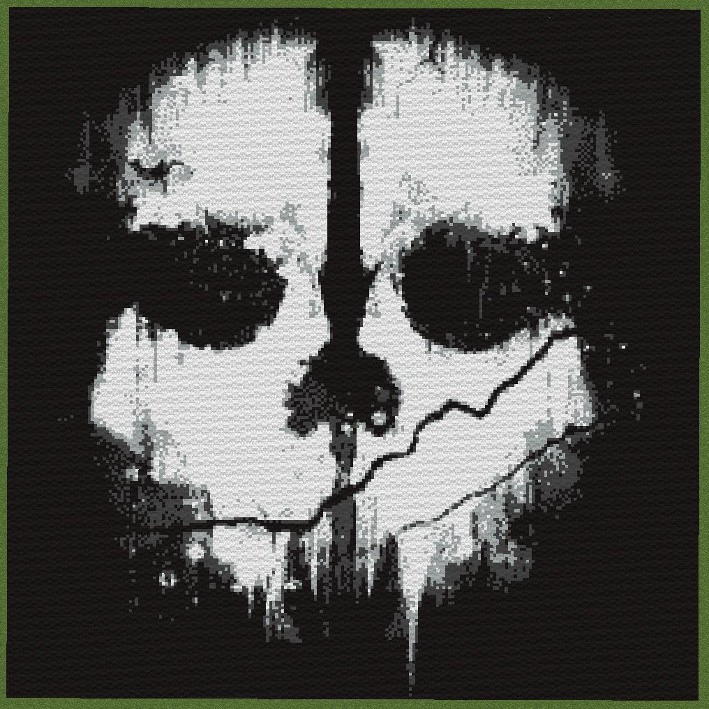 Call Of Duty Ghosts Skull Wallpaper Minecraft - Call Of Du...