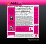 QuickDrive Web Design for sale