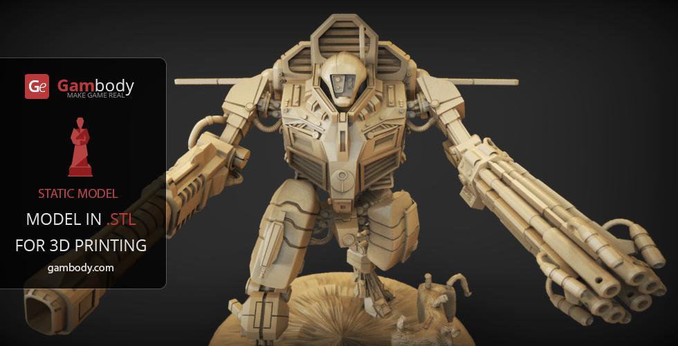 3D Model TAU XV109 Y'Vahra Warhammer 40k by Gambody on DeviantArt