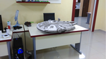 3D Printed Millennium Falcon by Gambody