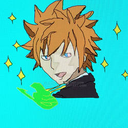 Loke/Leo without his glasses