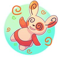 Spinda by Alolan-Vulpixy