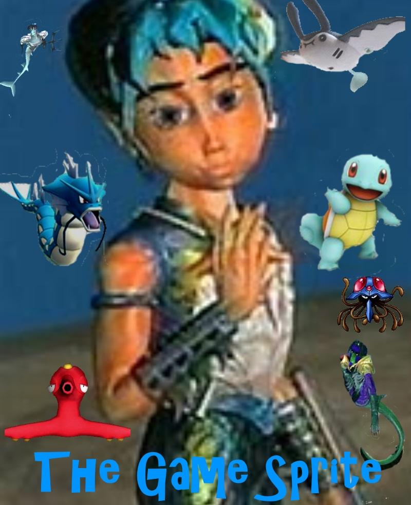 The Game Sprite Coverart By TheIkranRider77
